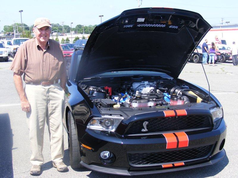 Robert Ponte - 2011 Cobra GT 500
