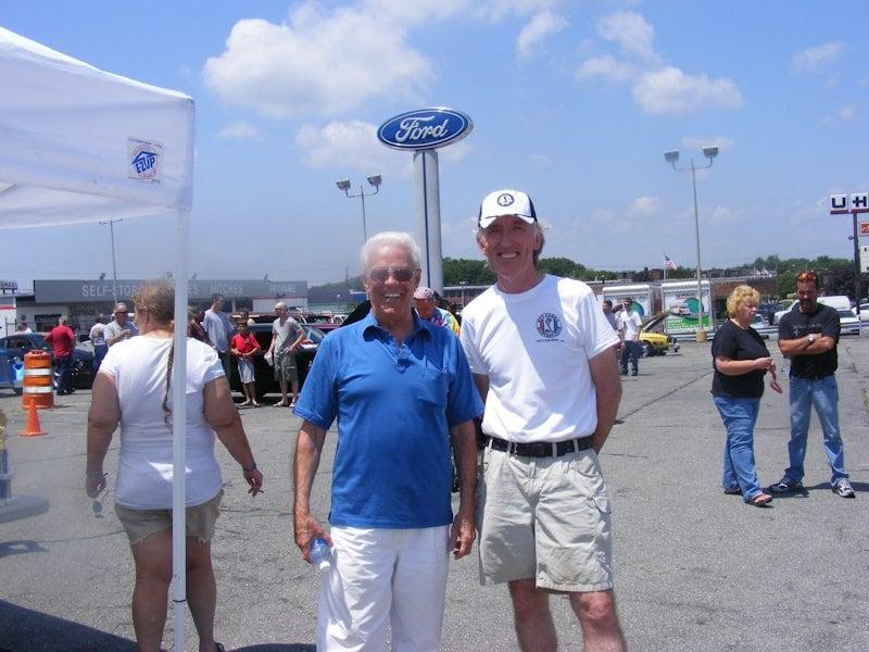 Joe Jesus with Pat Madigan