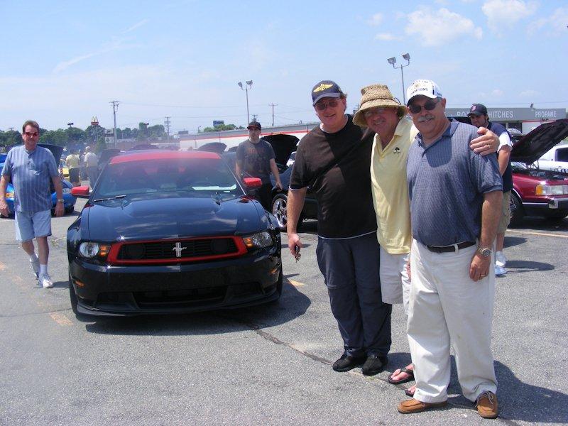 David Bechtold, Dan Sullivan and Bob Bancroft