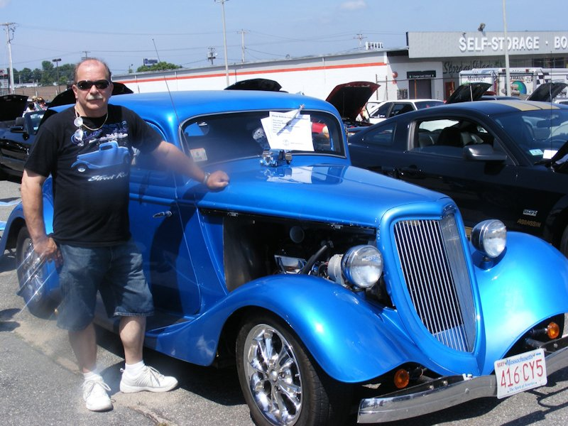 Don Hennison - '34 Ford Coupe