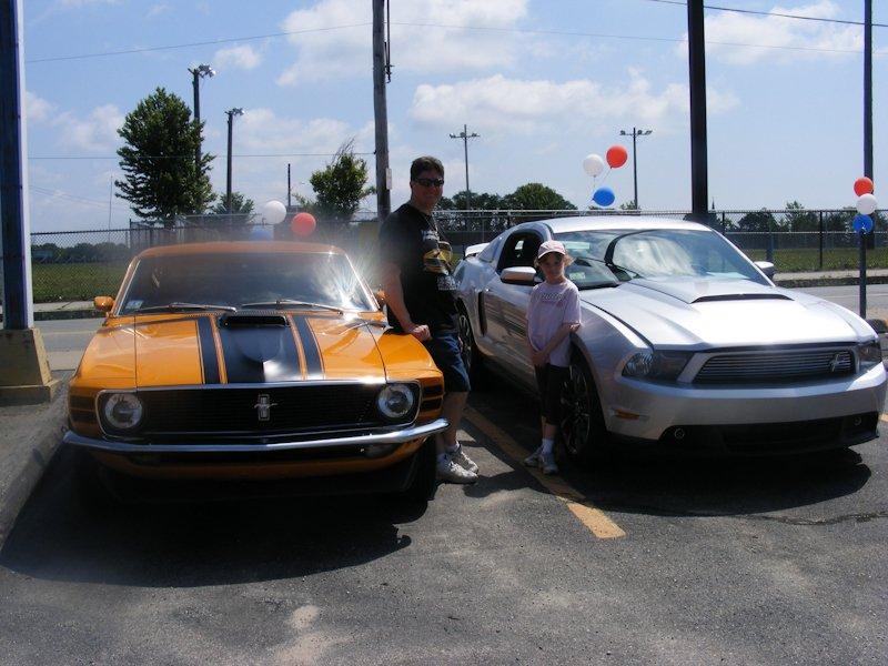 2012 Mustang GT Boss - Jennifer Durant (owner) & '72 Boss 302 - Mike Durant