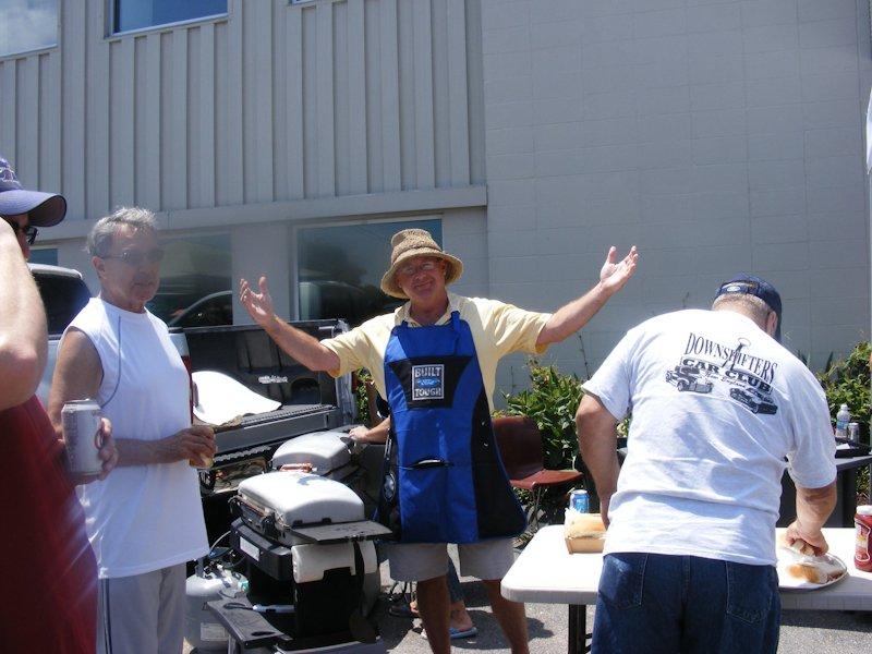 Dan Sullivan - the grillmaster!