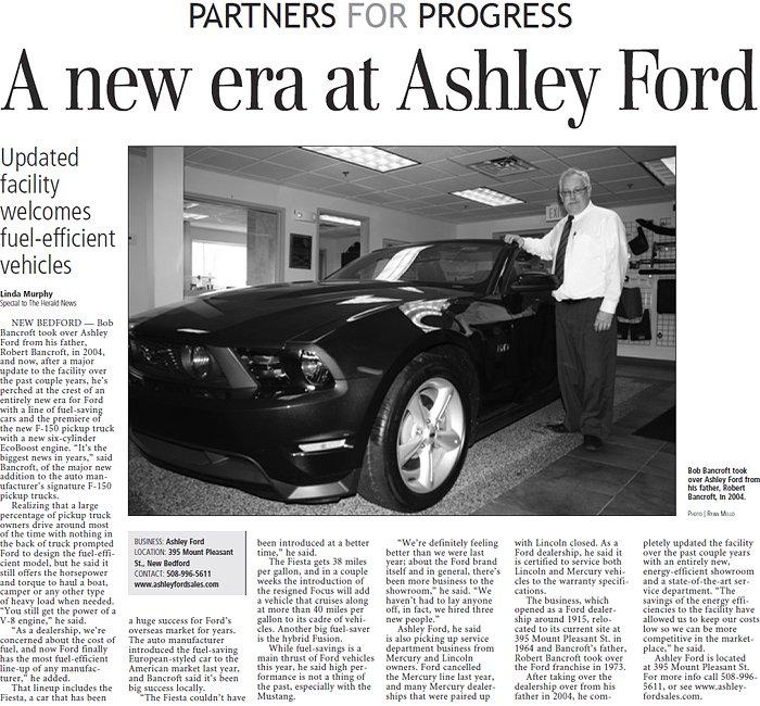 A New Era at Ashley Ford