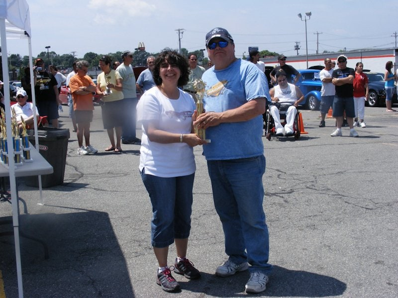 Richard Hibbard won 1st place in the category of '05-12 Mustang with his 2005 Mustang GT