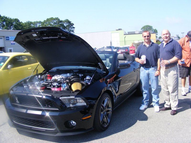 Scott LaBonte & Kevin Bancroft posing with Scott's '11 Shelby GT500