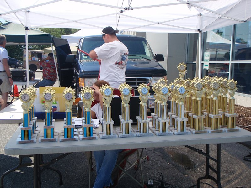 TROPHIES - 13 Classes with 3 awards per class!