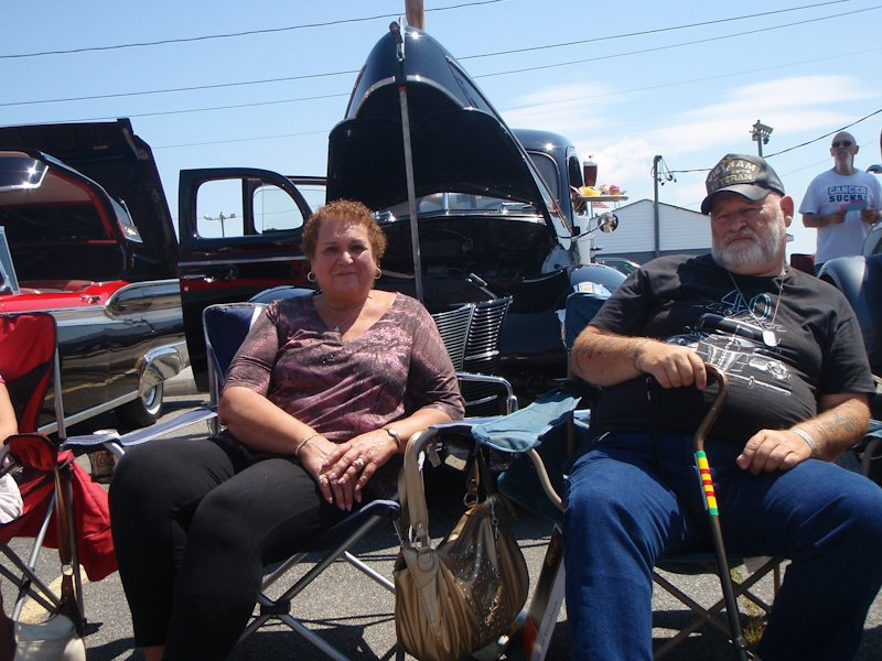 Alan and Dolores Faber - 1940 Ford 4 door Deluxe