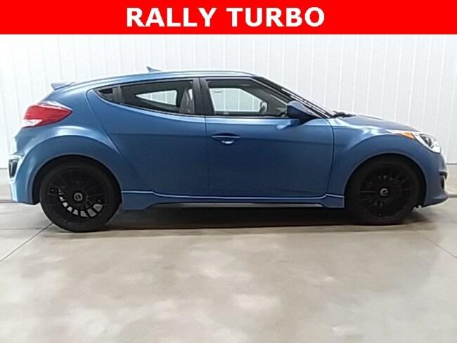 2016 Hyundai Veloster Turbo Rally Edition Hatchback