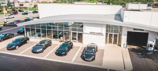 Napleton's Aston Martin Downers Grove Location