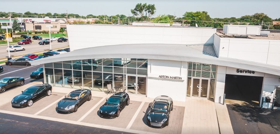Napleton's Aston Martin Downers Grove Service Center