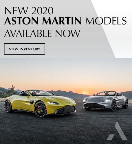 2020 Aston Martin Models Available Now