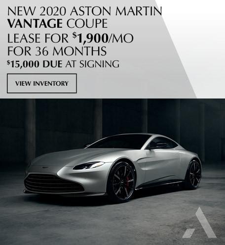 2020 Aston Martin Vantage Lease