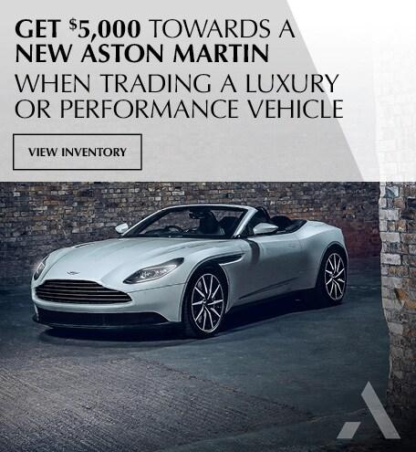 Aston Martin Trade In Offer