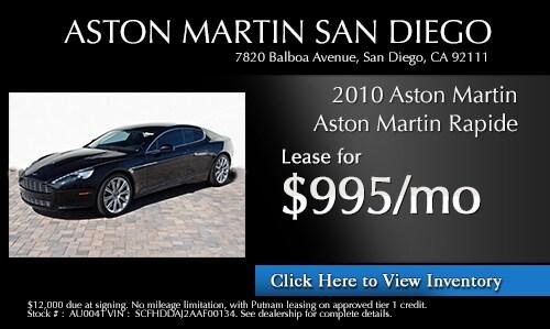 Aston Martin San Diego New Aston Martin Dealership In San Diego - Aston martin san diego