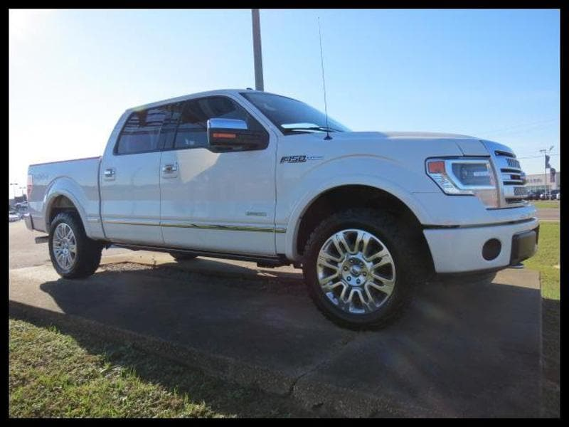 2014 Ford F-150 Platinum Crew Cab Short Bed Truck