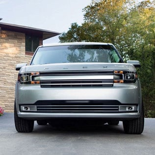 Front View of the Ford Flex