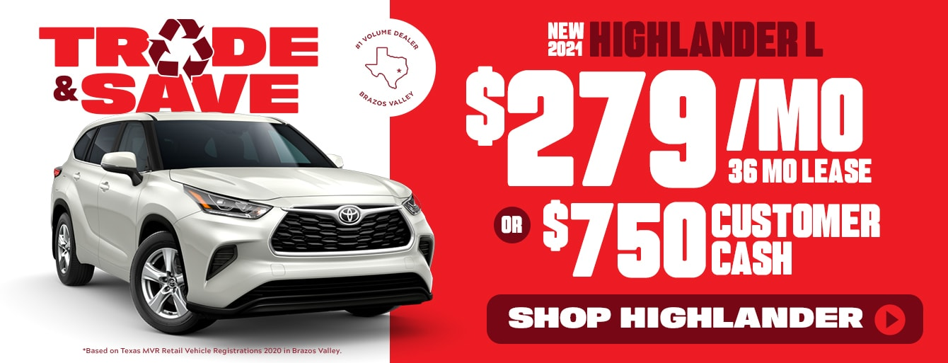 Trade & Save Sales Event in Bryan, TX