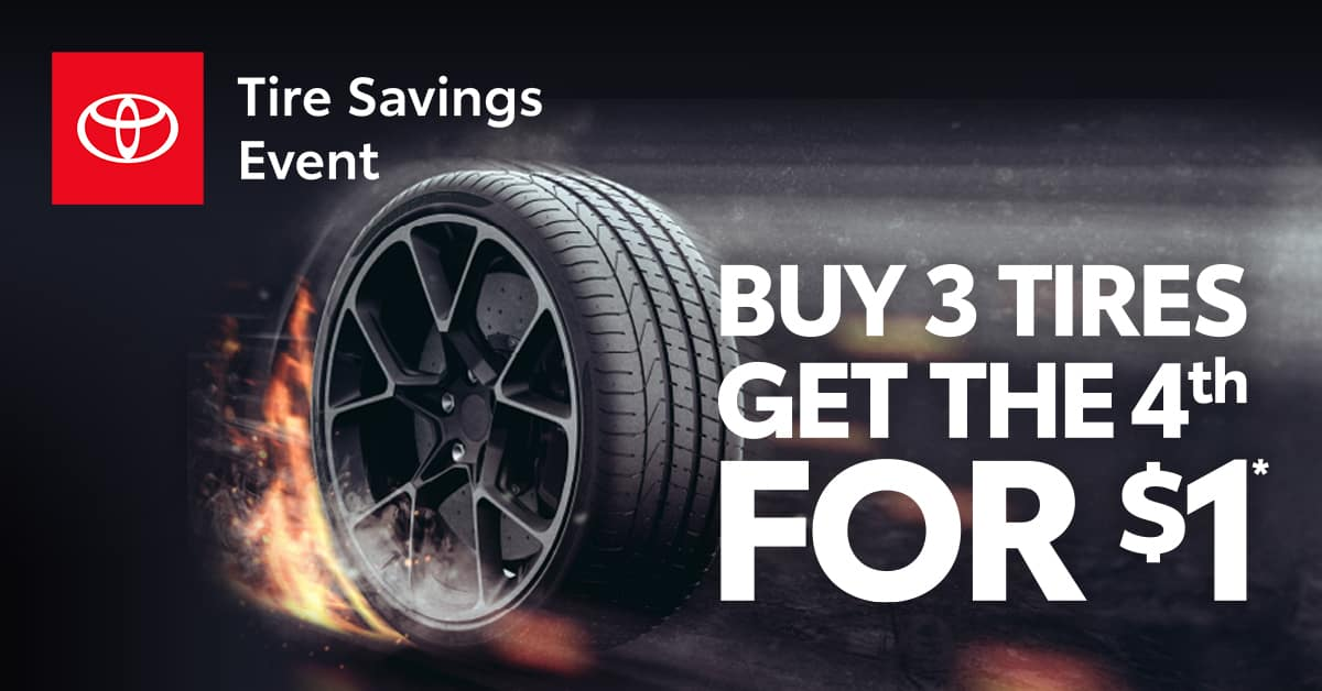 The Tire Savings Event at Huntsville Toyota!