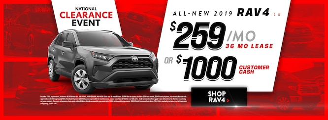 New Toyota Specials in Dallas | South Toyota