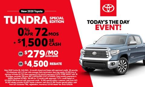 New 2020 Tundra Special Edition