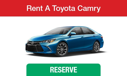 Toyota Rental Cars Dallas TX | Reserve Your Car Truck or SUV