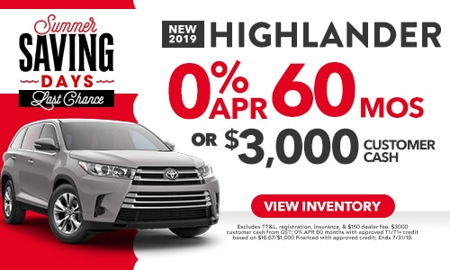 New Toyota Specials In Dallas South Toyota