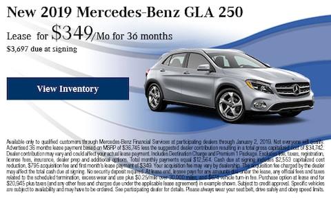 2019 Mercedes-Benz GLA 250 Offer
