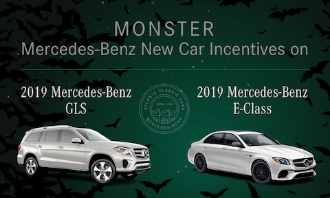Monster Mercedes-Benz New Car Incentives