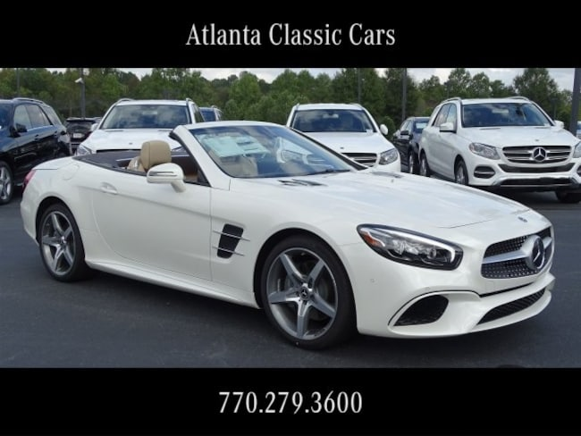 In Duluth, GA 2019 Mercedes-Benz SL 550 Roadster