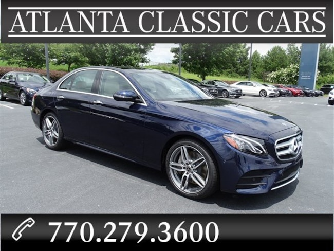 In Duluth, GA 2018 Mercedes-Benz E-Class E 300 Sedan