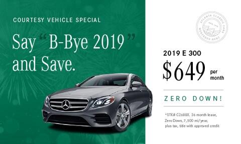 February 2019 E 300 Lease Offer
