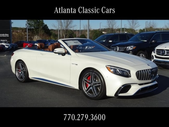 In Duluth, GA 2019 Mercedes-Benz AMG S 63 4MATIC Cabriolet
