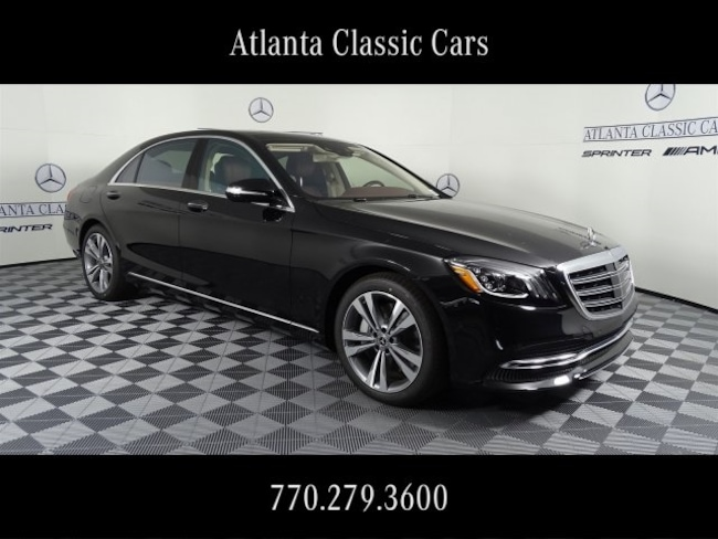 In Duluth, GA 2019 Mercedes-Benz S-Class S 560 4MATIC Sedan