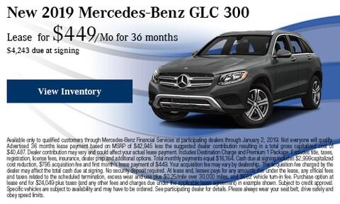 2019 Mercedes-Benz GLC 300 Offer