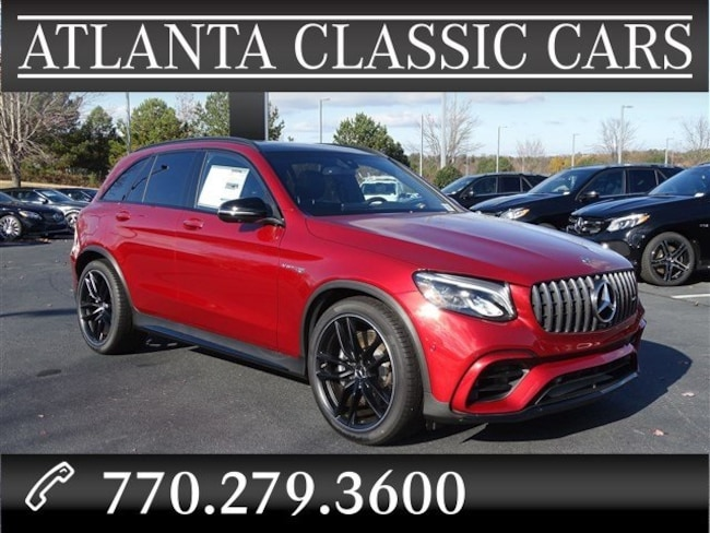 In Duluth, GA 2019 Mercedes-Benz AMG GLC 63 4MATIC SUV