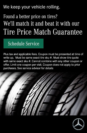 We'll match it and beat it with our Tire Price Match Guarantee.