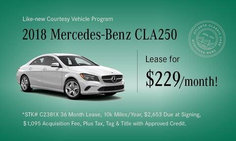 Like-New CLA 250