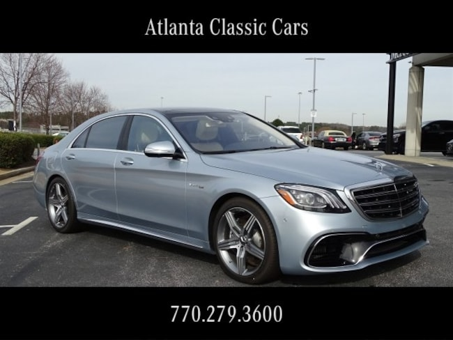 In Duluth, GA 2019 Mercedes-Benz AMG S 63 4MATIC Sedan