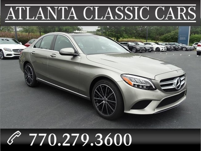 In Duluth, GA 2019 Mercedes-Benz C 300 Sedan C-Class SEDAN