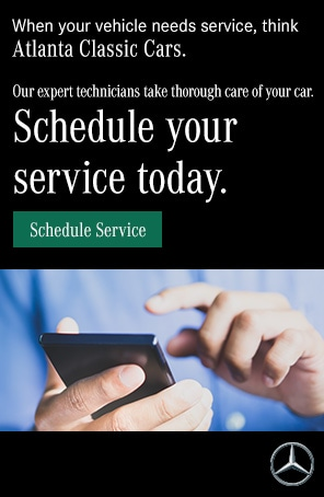 When your vehicle needs service, think Atlanta Classic Cars.