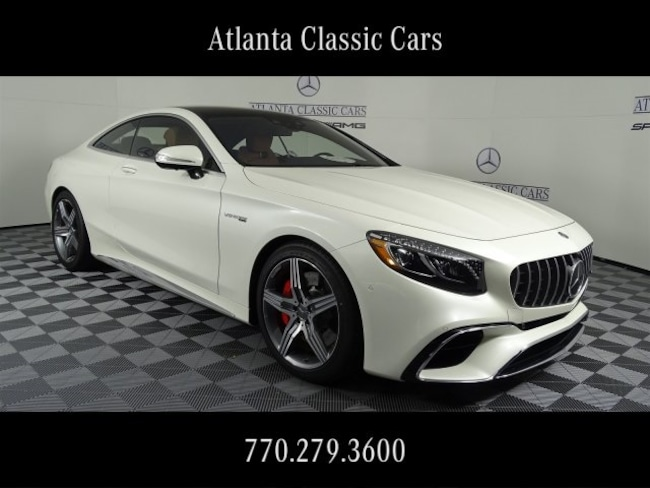 In Duluth, GA 2019 Mercedes-Benz AMG S 63 4MATIC Coupe