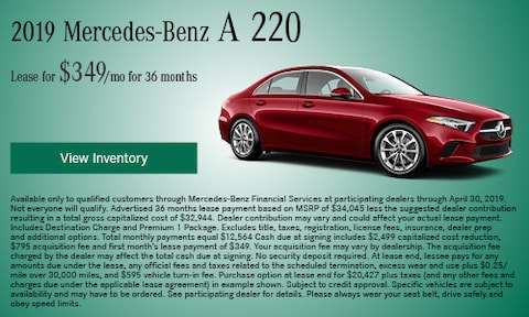 April 2019 A 220 Lease offer