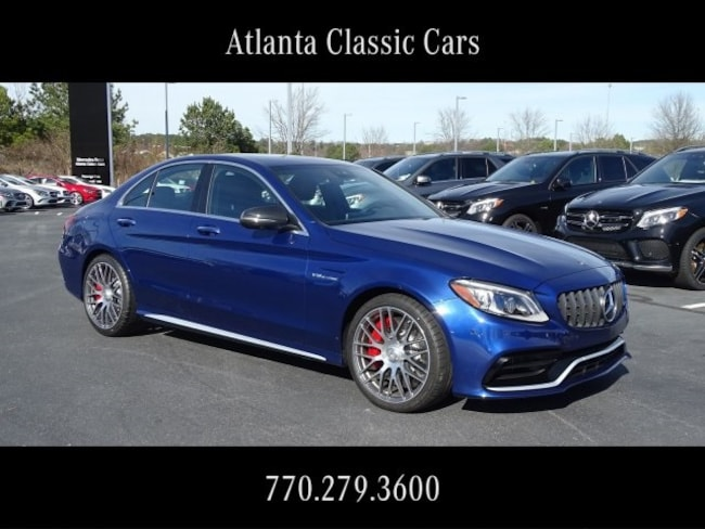 In Duluth, GA 2019 Mercedes-Benz AMG C 63 S Sedan