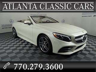 2018 Mercedes-Benz S 560 Cabriolet S-Class CABRIOLET