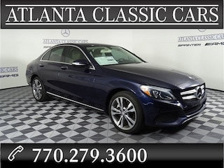 2015 Mercedes-Benz C 300 4matic Sedan C-Class SEDAN