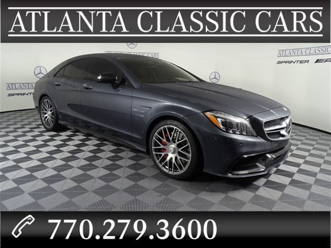 2016 Mercedes-Benz AMG CLS 63S Coupe CLS COUPE