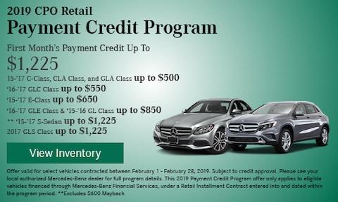 CPO Retail Payment Credit Program