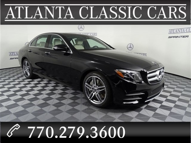 In Duluth, GA 2019 Mercedes-Benz E-Class E 300 Sedan