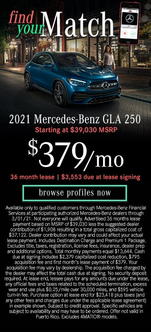 2021 Mercedes-Benz GLA 250 Models