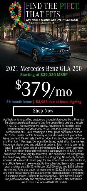 2021 Mercedes-Benz GLA 250 Models